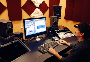 Entertainment and recording industry program at Nazareth College