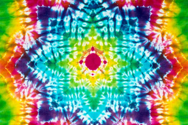 Tie Dye and Touchdowns
