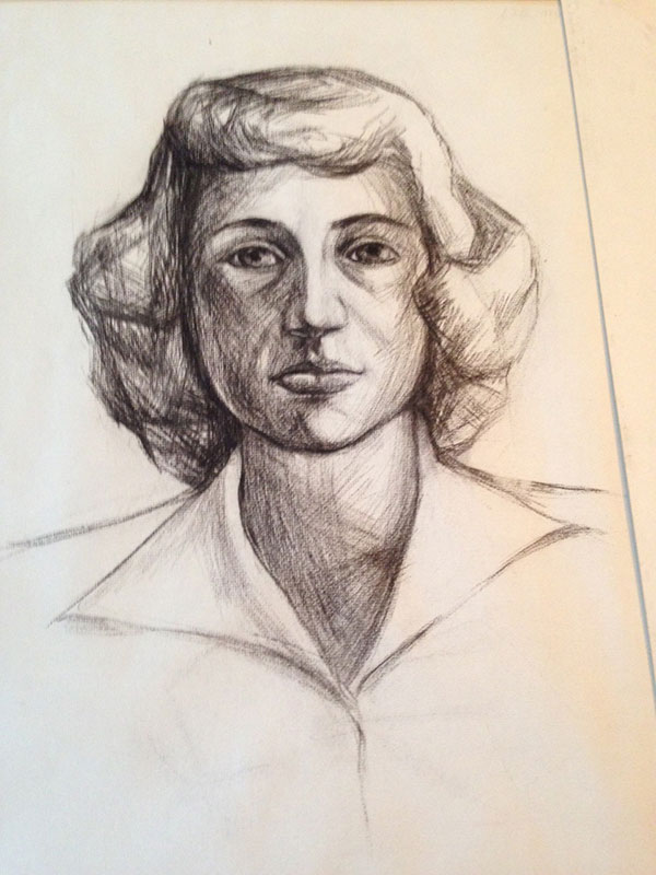 sketch of Elizabeth Ann Murphy