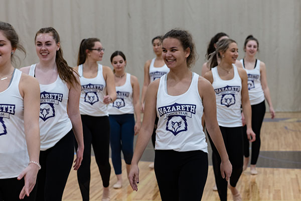 Nazareth Dance Team Try-outs DAY 1