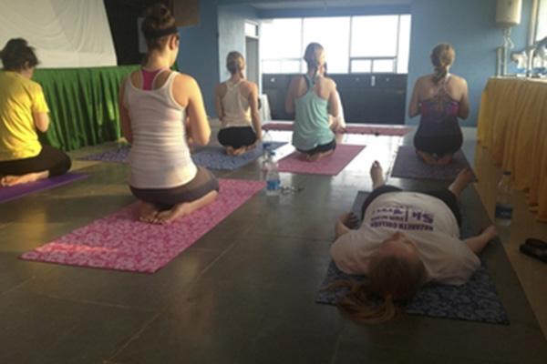 Fun Friday Flow Yoga