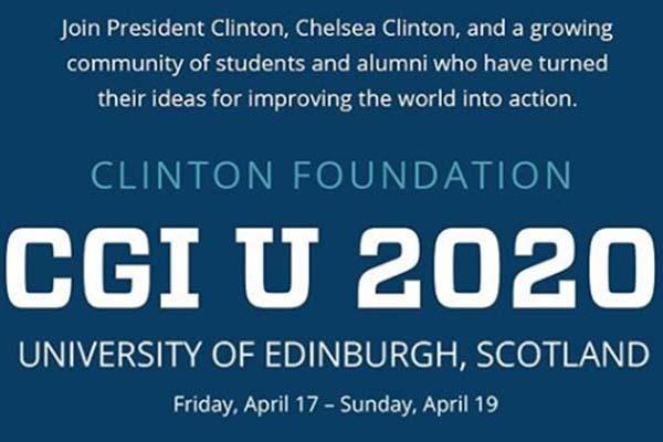 Be a Changemaker: Clinton Global Initiative University (CGI U) Info Session