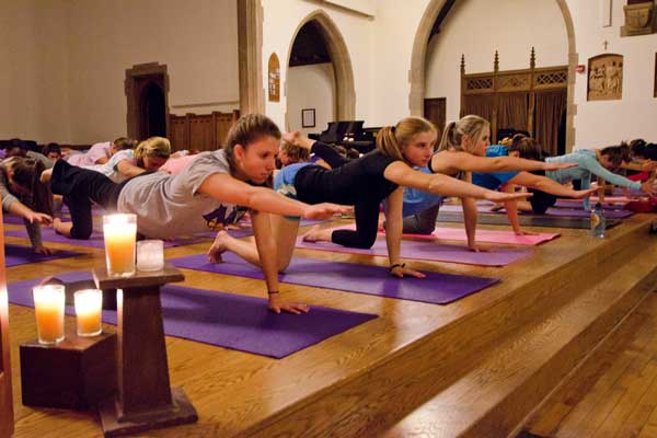 Night Light Yoga - 8:45 pm