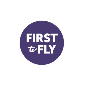 First to Fly logo