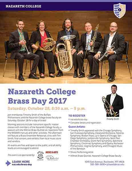 Nazareth College Brass Day 2017