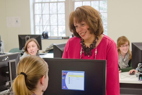 Professor Lisa Durant-Jones loves working closely with students.