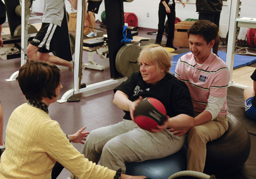 Physical Therapy Multiple Sclerosis Wellness Group at Nazareth College