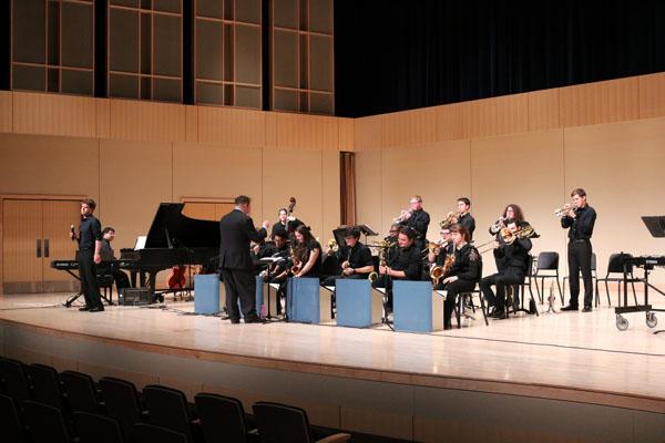 Nazareth College Jazz Ensemble and Lab Band