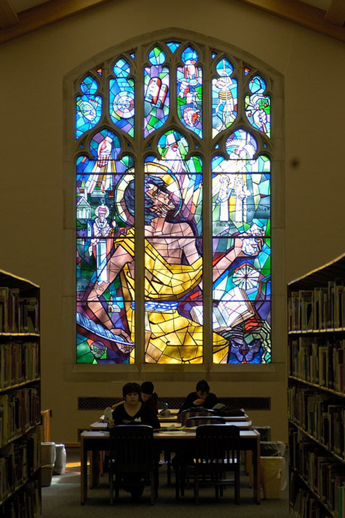 Saint Jerome Window