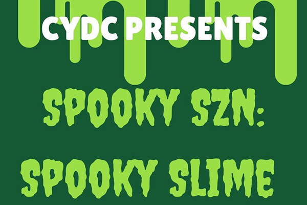 Spooky Halloween Slime with Community Youth Development Collective