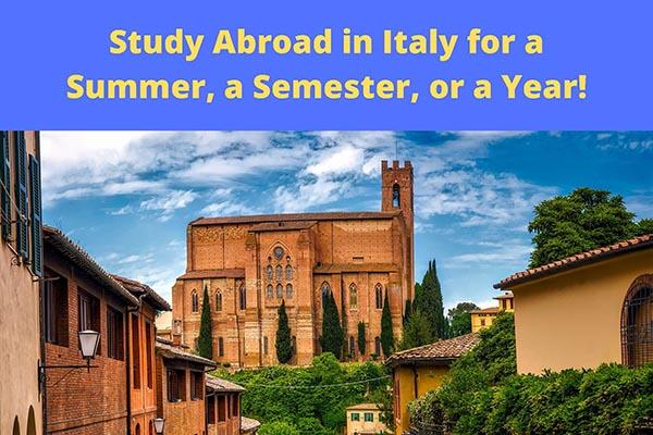 Casa Italiana Study Abroad Informational Meeting