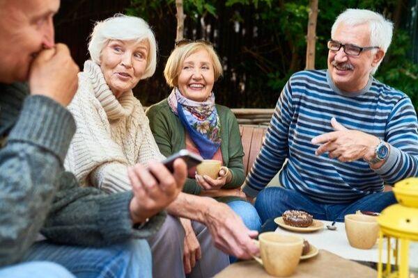 Friendly Senior Living - Info Table