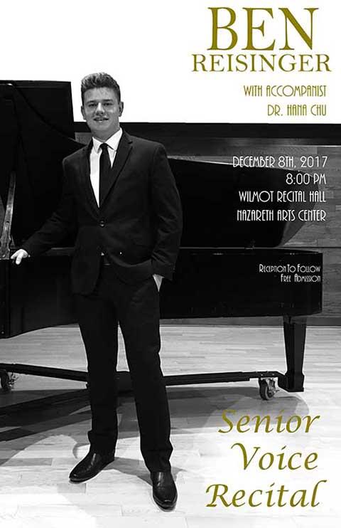 Ben Reisinger: Senior Voice Recital