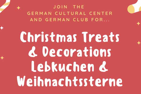 German Christmas Treats and Decorations