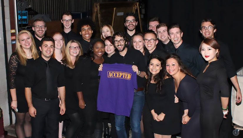Nazareth choir with Josh Groban