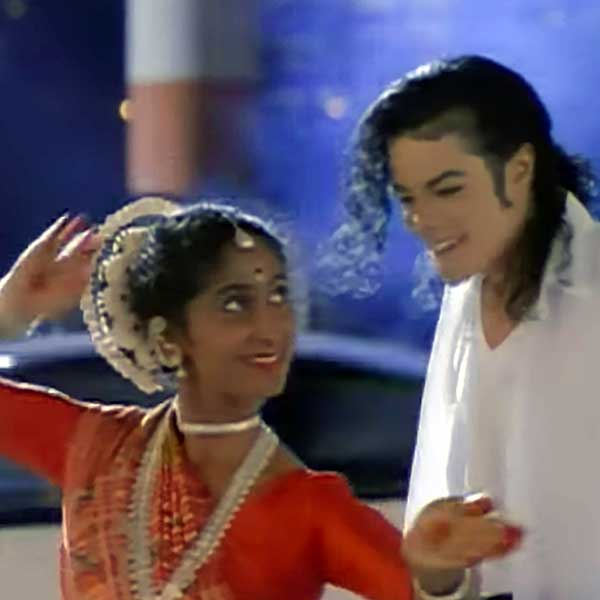 Yamuna with Michael Jackson