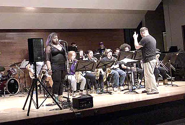 Nazareth College Jazz Ensemble and Lab Band