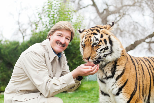 """Peter Gros of """"Mutual of Omaha's Wild Kingdom"""""""