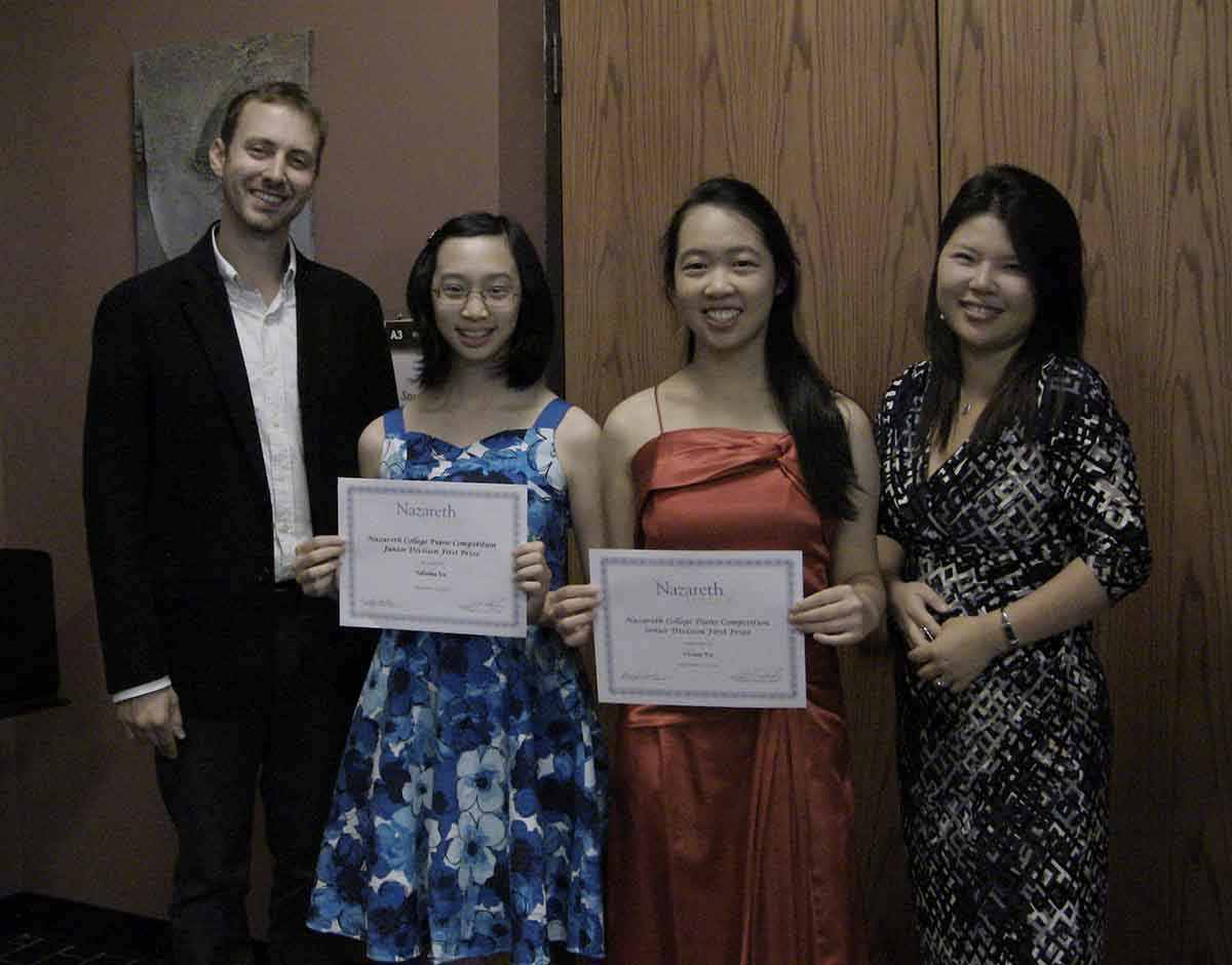 2015 Piano Competition Winners