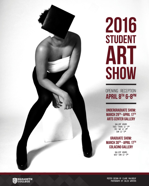 2016 Student Show Poster