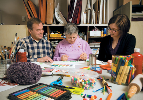Wellness and Rehabilitation Institute Art Therapy at Nazareth College