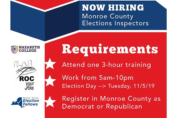 Election Inspector Info Session