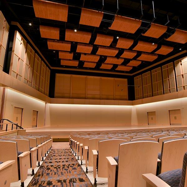 Beston Hall in Glazer Music Performance Center