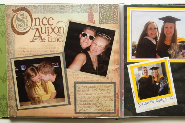 scrapbook by Elizabeth Heller '12