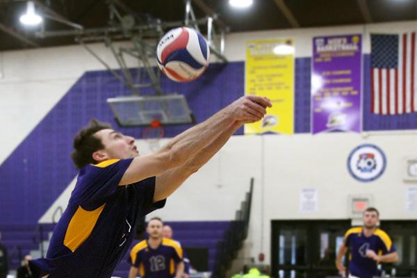 Men's Volleyball vs. Vassar