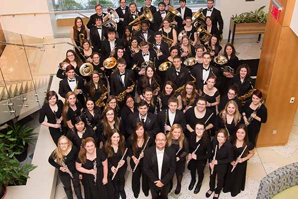 Nazareth College Symphonic Band and Brass Ensemble