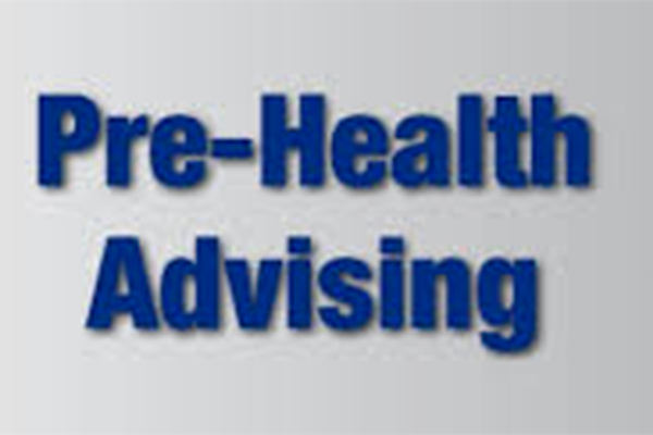 Jr/Sr Pre-Health Group Advising