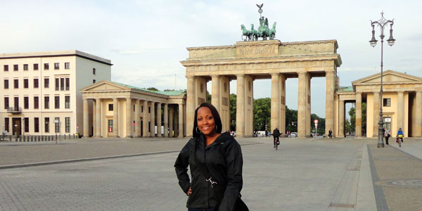 Karla Jackson studied and interned in Berlin