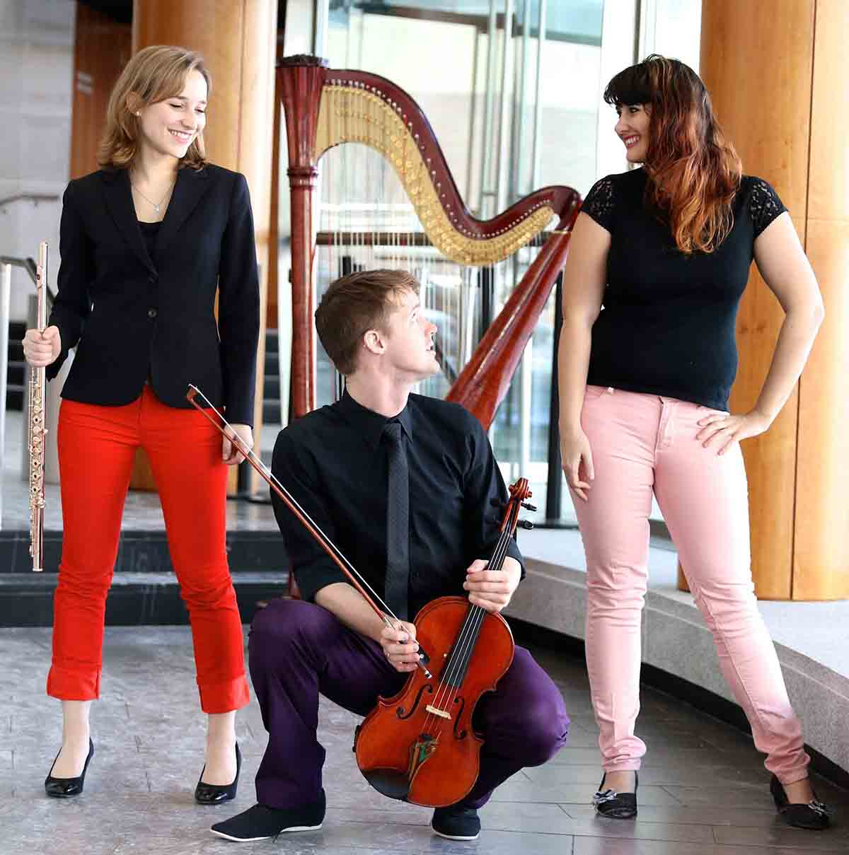 Faculty/Guest Recital: Trio Alexander