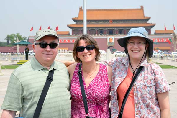 Rochelle Ruffer on a Naz trip to China