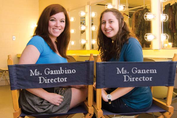 Gloria Gambino and Katie Ganem