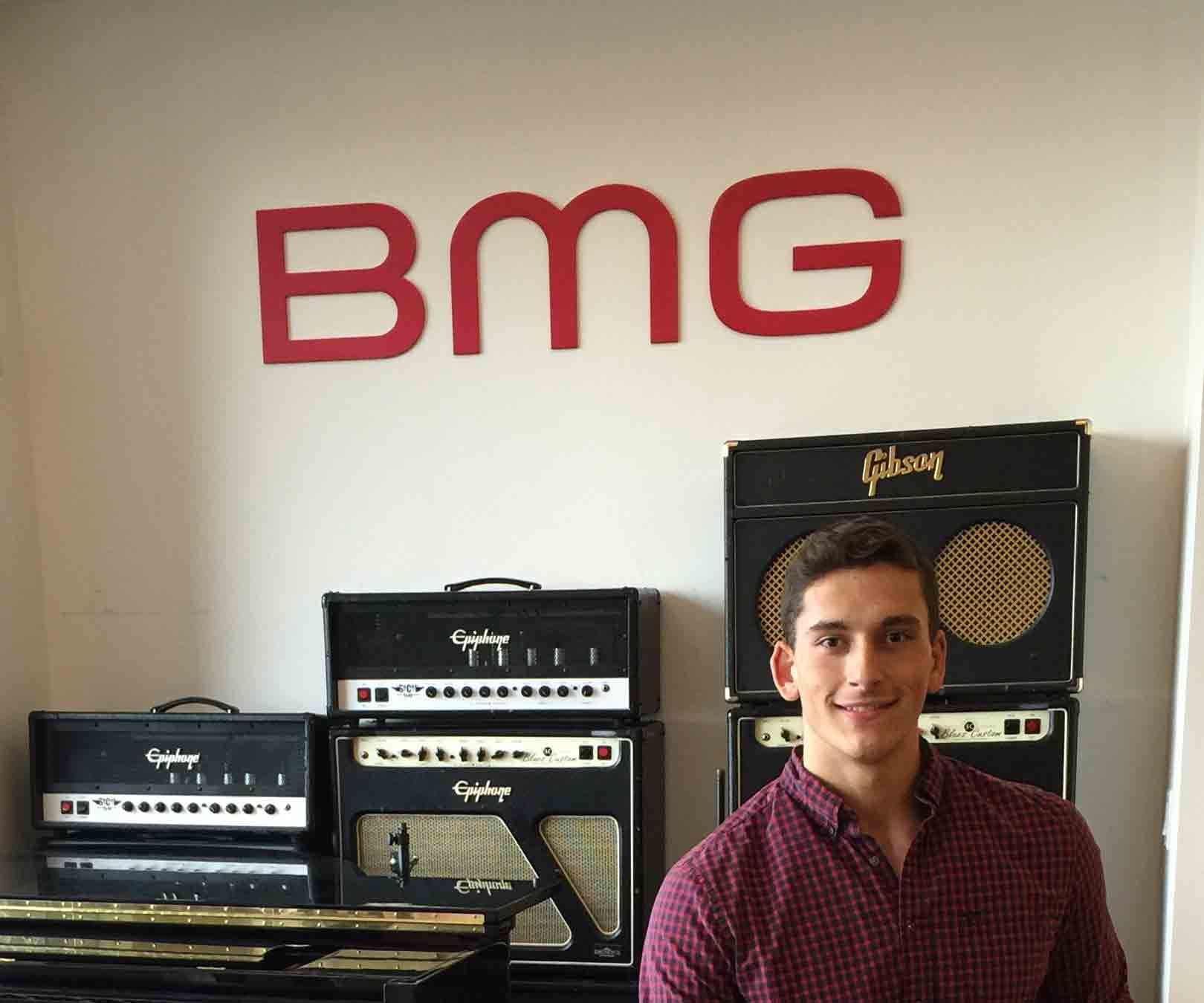 Nick Napoli at BMG