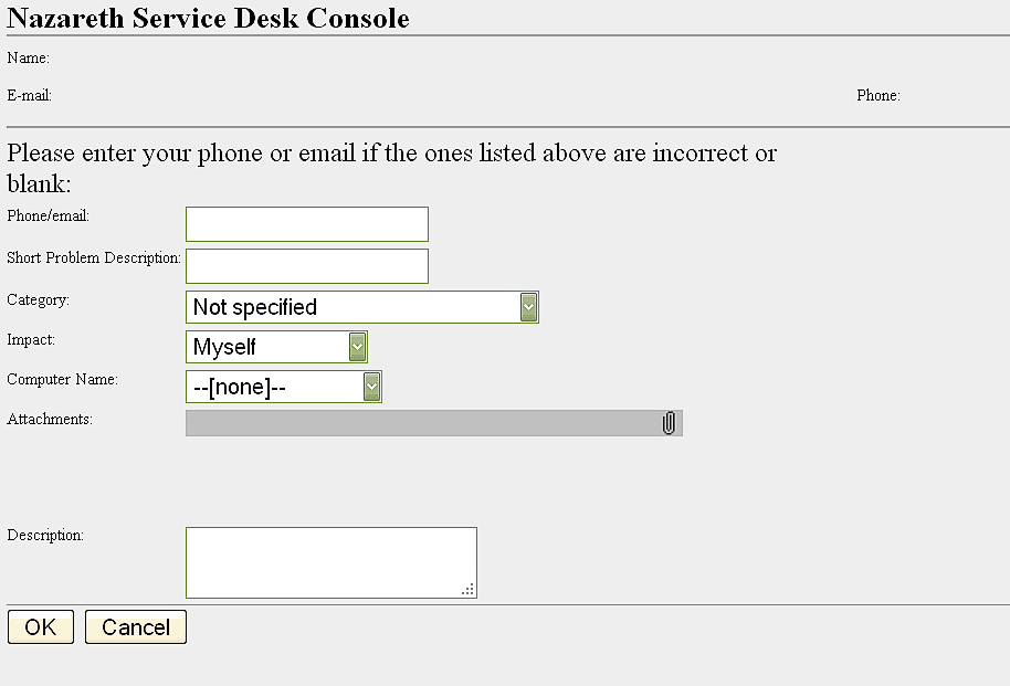 creating an incident report screenshot