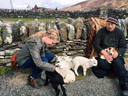 Colleen Ward '18, Ireland's Furry Critters