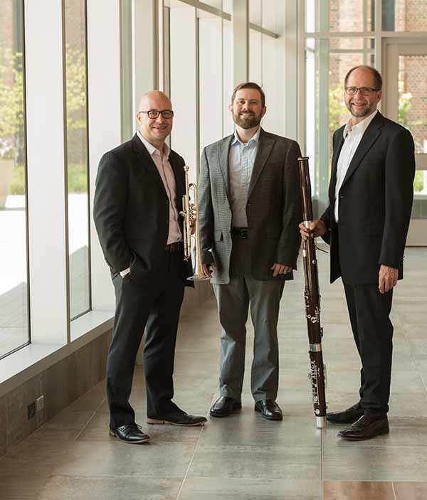 Faculty Recital: Keith Koster, bassoon; Jared Chase, trumpet